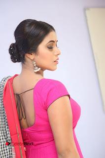 Poorna Pictures in Pink Salwar Kameez at Jayammu Nischayammu Raa Teaser Launch ~ Celebs Next