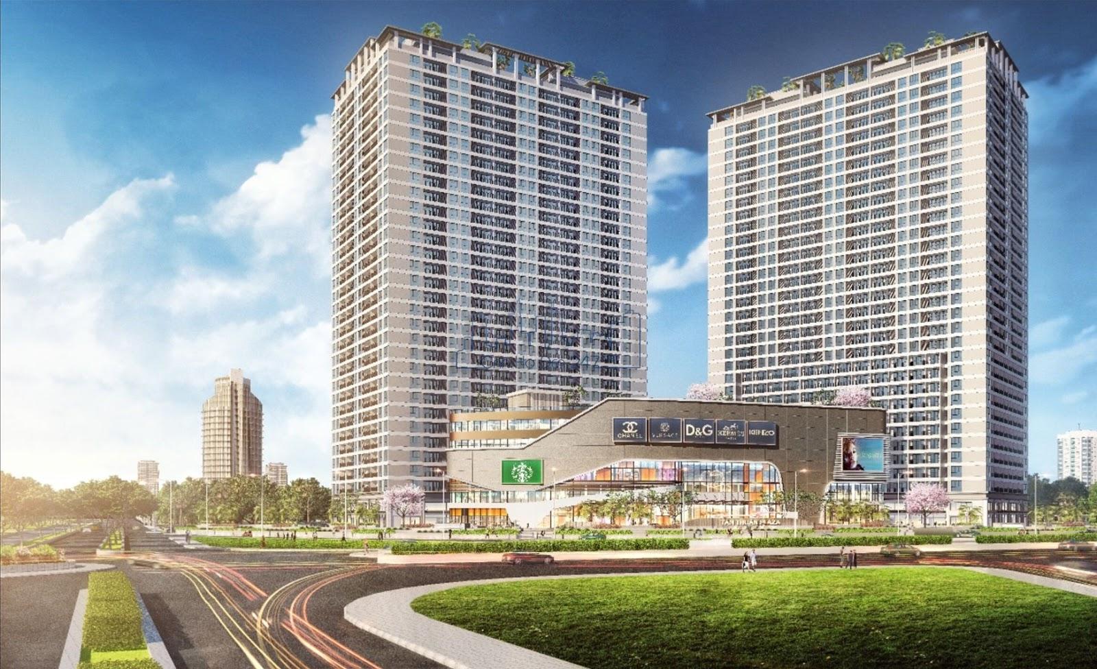 Phối cảnh dự án La Vida Plus Quận 7 - Chủ đầu tư Quốc Cường Gia Lai
