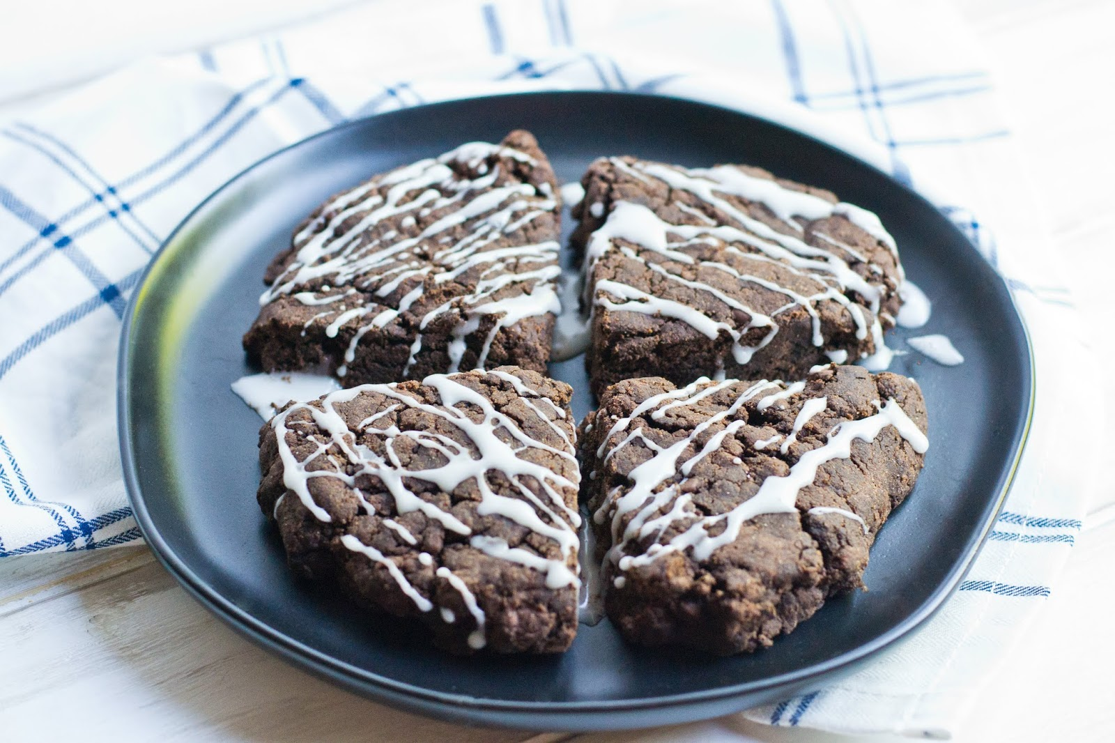 gluten-free and vegan recipes double chocolate scones