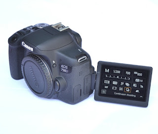 Jual Canon EOS 750D Wifi Body Only Like New