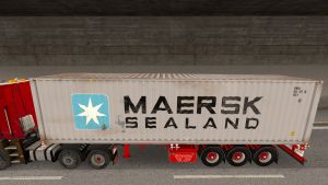 Maersk Seland Container trailer