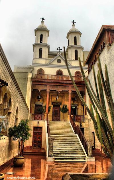 نبذة تاريخية عن الكنيسة المعلقة