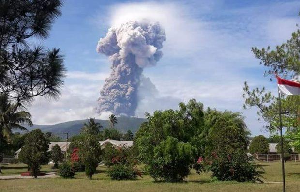 Gunung Soputan di Sulawesi Utara Meletus, BNPB Umumkan Status Siaga