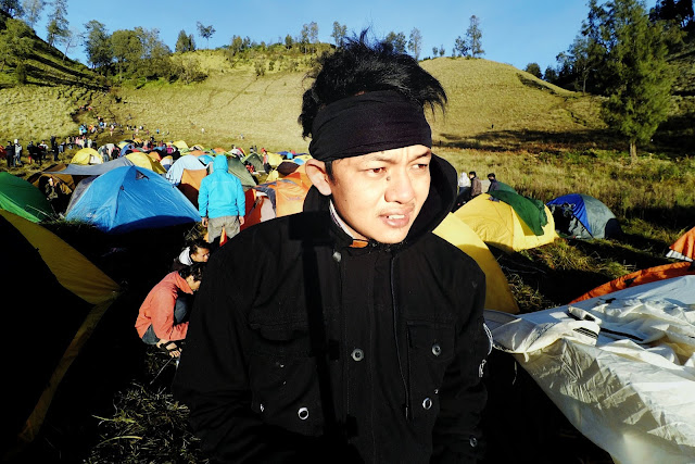 Camping di Ranu Kumbolo 2400 mdpl