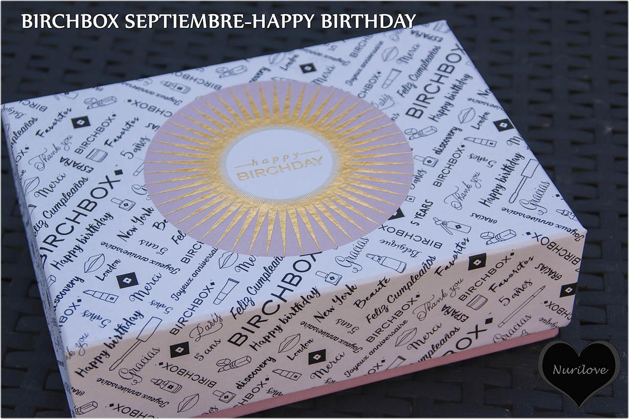 Birchbox septiembre, una cajita que cada mes te sorprenderá