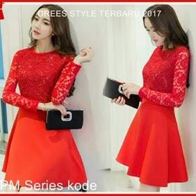 5SPM Dress Pesta Wanita Kebaya Ala Korea Bj5005