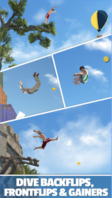 Flip Diving Mod Apk Unlimited Money