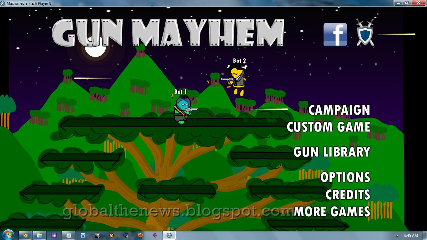 free game flash Gun Mayhem 1 | free download software and movie