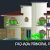 مشروع منزل كبير فيلا فاخرة مع اسطبل للاحصنة اوتوكاد dwg