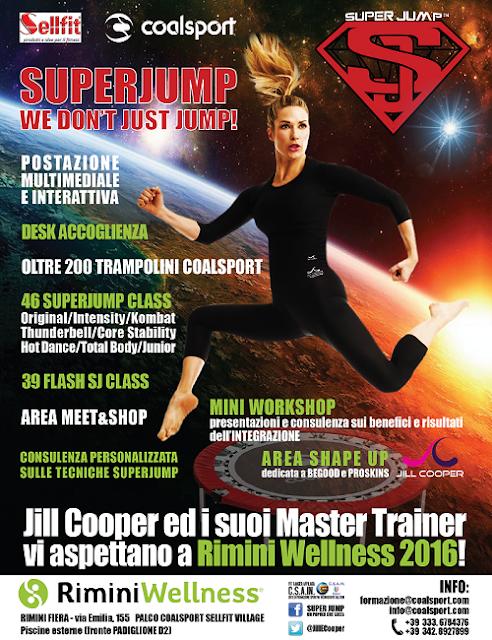 Superjump we don't just jump - Riminiwellness, 2-5 giugno 2016