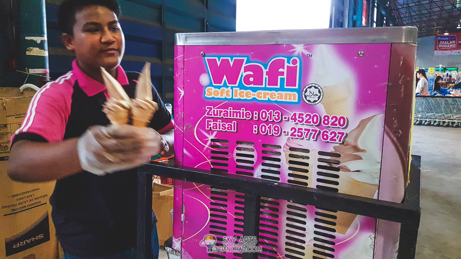 0299ae8d45d58 HOMEPRO WAREHOUSE SALE HomePro Jualan Gudang 2018 in Puchong - Free  ice-cream