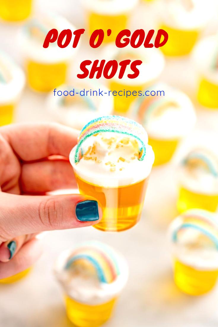 Pot o' Gold Shots - food-drink-recipes.com