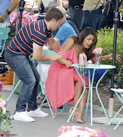 Priyanka Chopra in a Deep neck Red Gown on the Set of Isnt It Romantic ~  Exclusive Celebrities Galleries 009.jpg