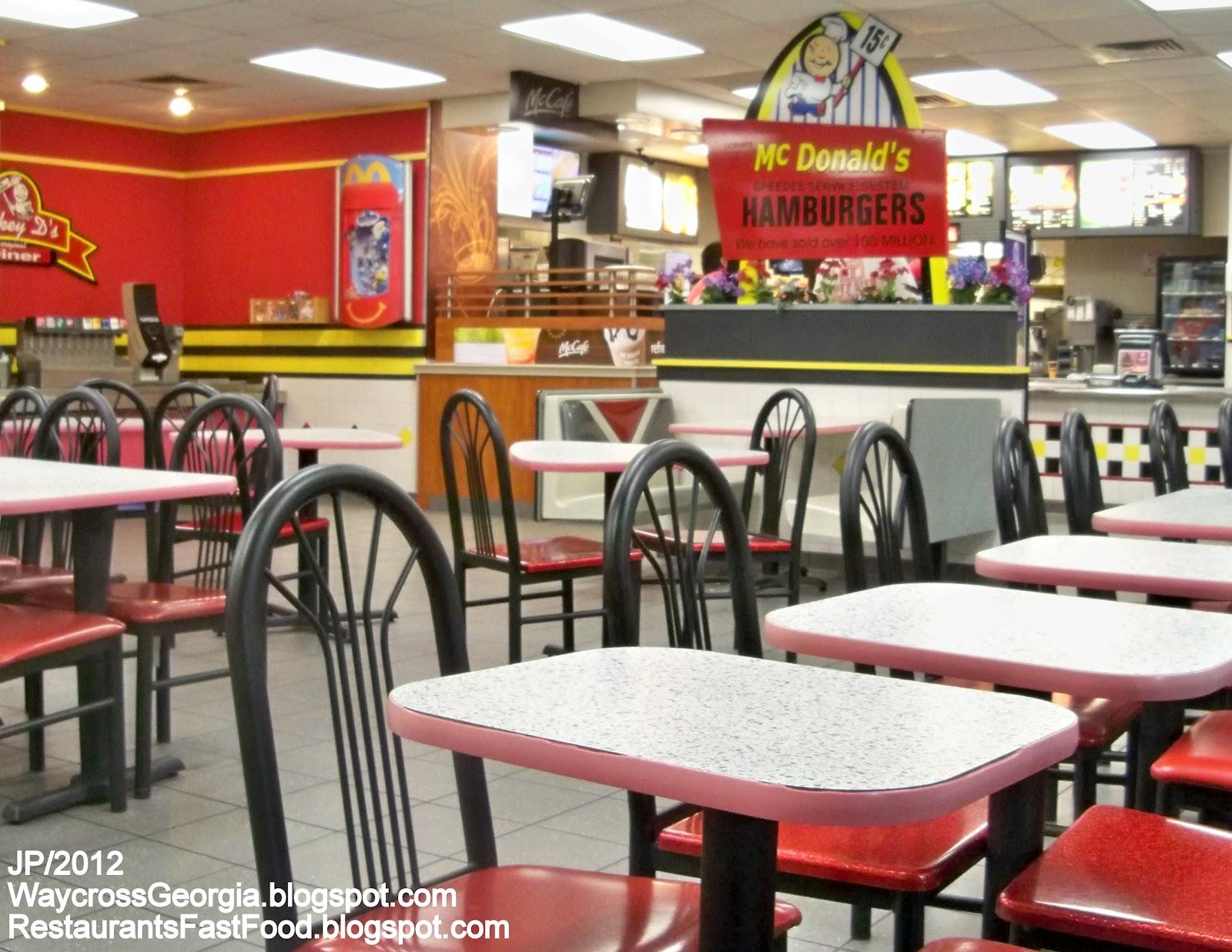 Fast Food restaurants Essay topics