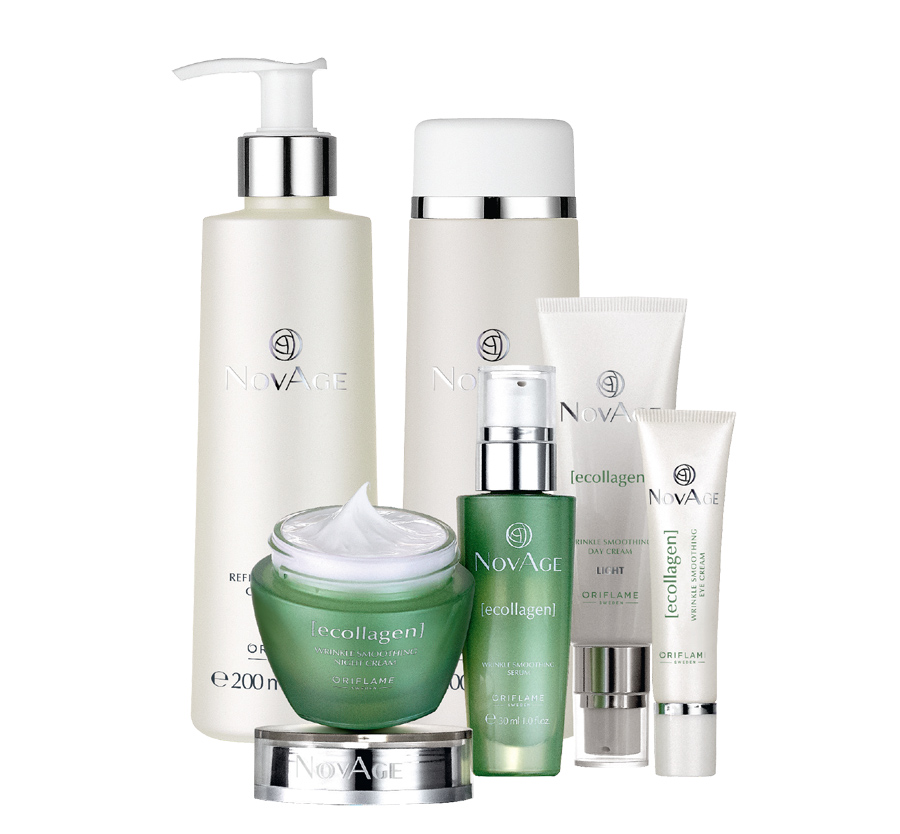 Conjunto Ecollagen Light NovAge da Oriflame