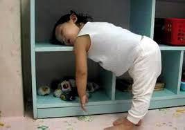 anak kecil tidur