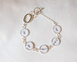 image bracelet typography literature quote dr seuss oh the places you'll go for her two cheeky monkeys
