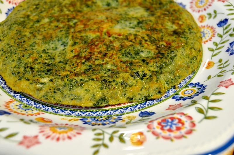 tortilla espinacas cenas faciles ninos