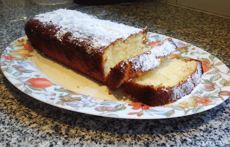 Eclecticalu lemon pound cake without butter for Cake recipe without butter