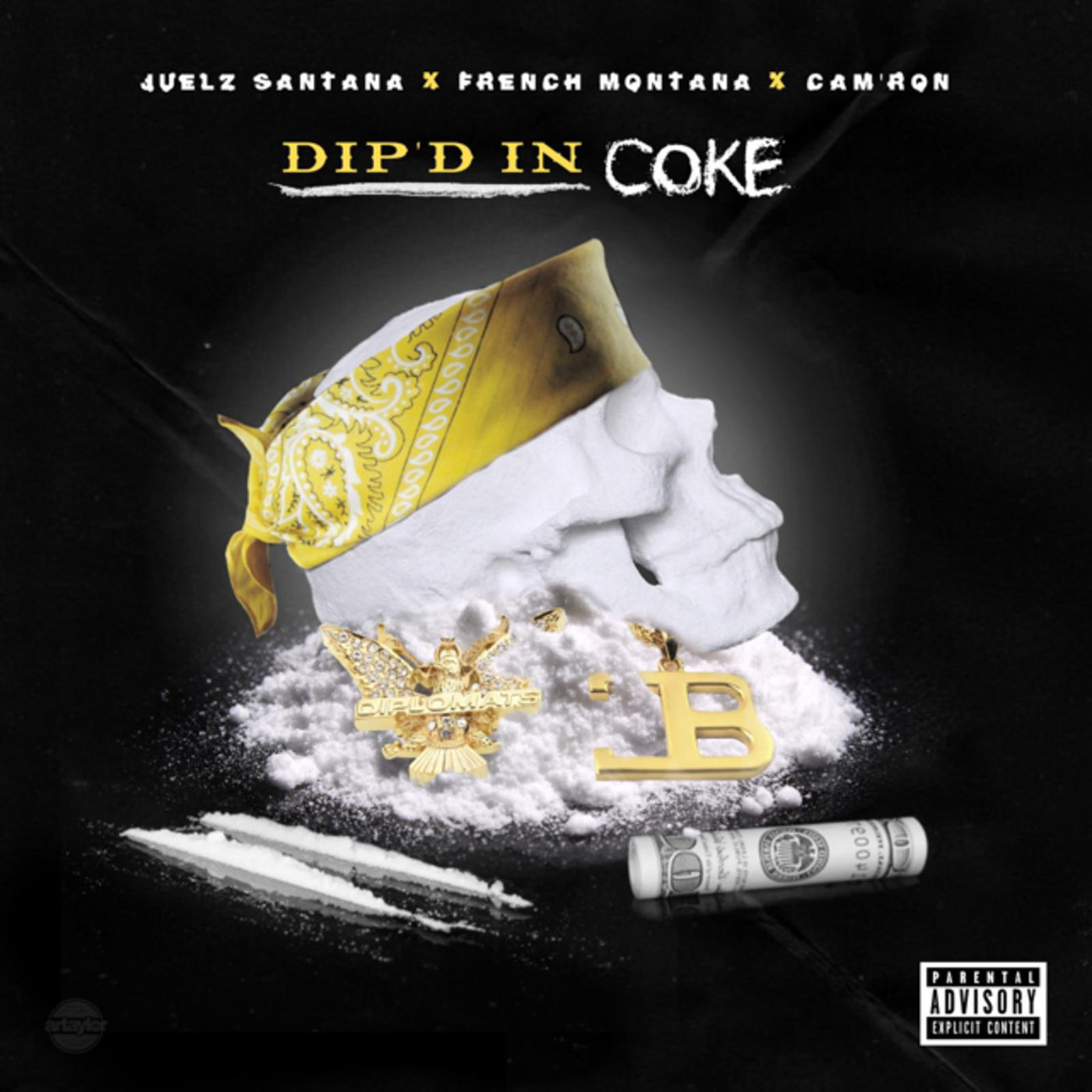 Juelz Santana - Dipped in Coke (feat. Cam'ron & French Montana) - Single Cover