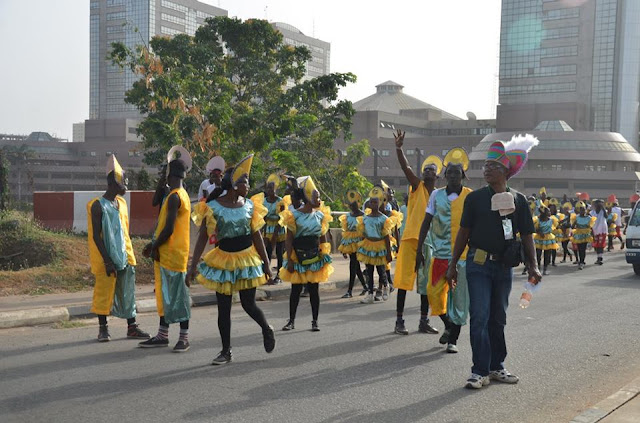 UBA Plc  behind the annual Abuja carnival.