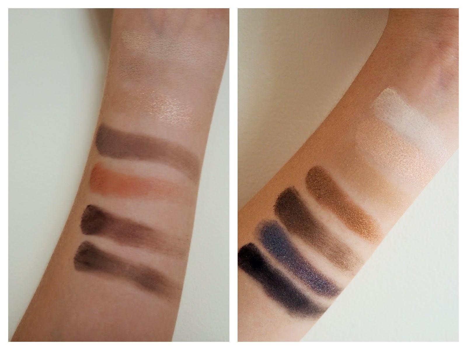 Bareminerals Bare Naturals Eye Shadow Palette swatches