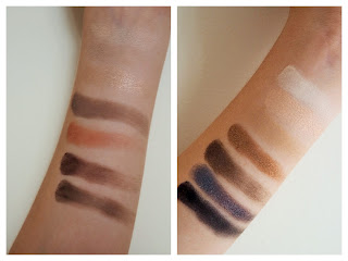Bareminerals Bare Naturals Eye Shadow Palette swatches