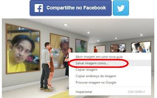 Criando uma exposição com suas foto facebook