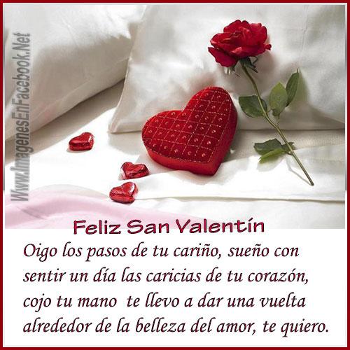 Te Quiero.. Feliz San Valentin