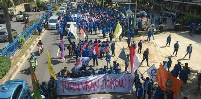 Demo Mahasiswa Mulai Masif, Tanda Jokowi Tak Dipercaya Rakyat