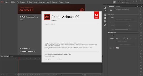 Adobe Edge Animate CC 2017 Español Crea Animaciones Web