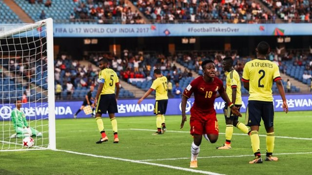 Colombia vs Ghana at FIFA U-17 World Cup India 2017, Black Starlets make winning start against Colombia [Video]