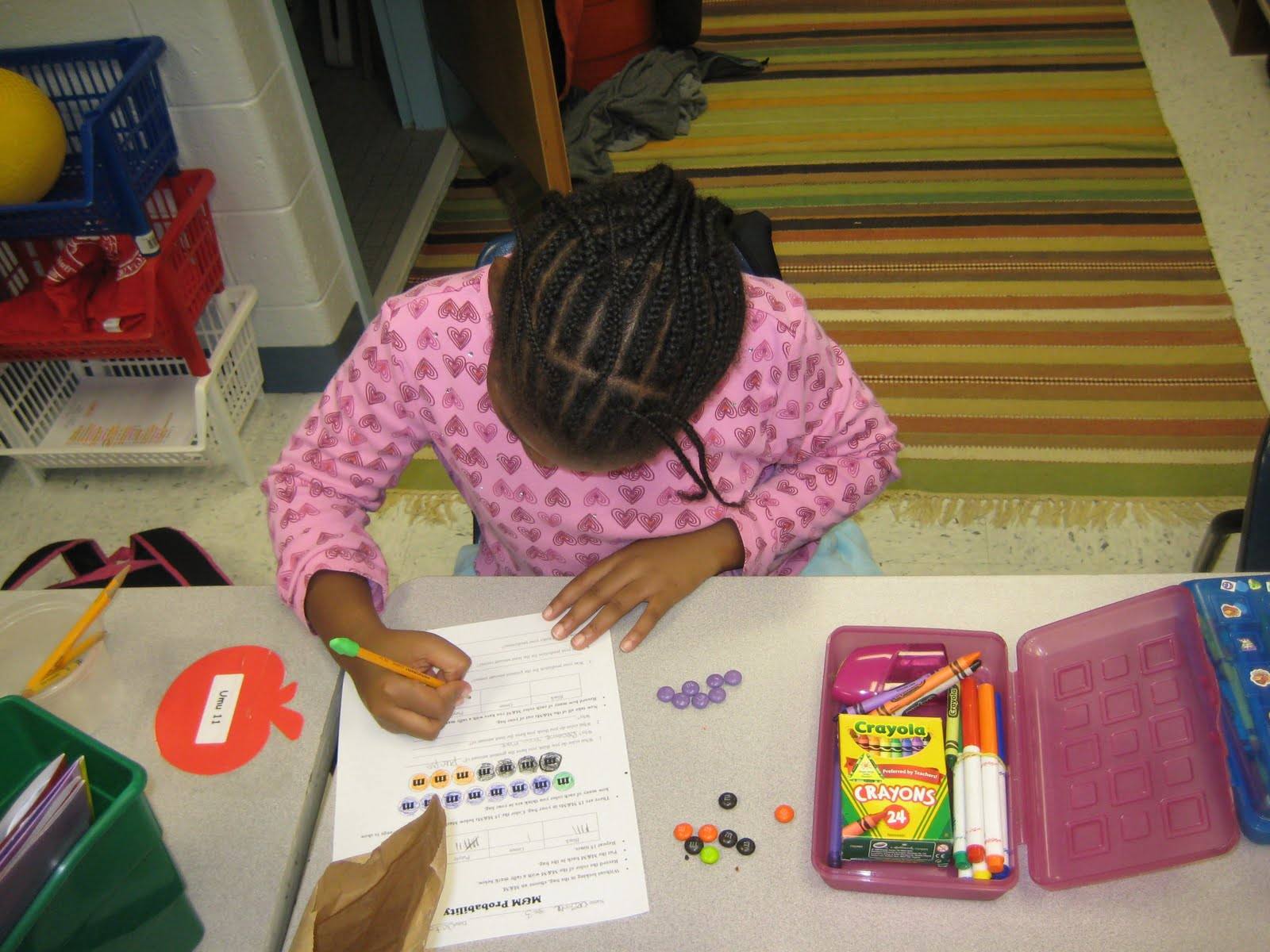M Amp M Probability Math Monday Linky Party Adrienne Teaches