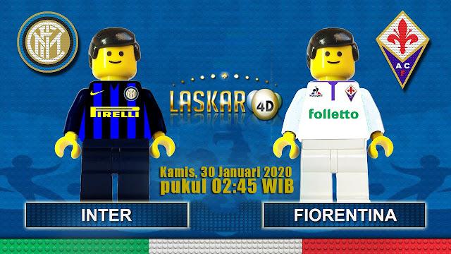 Prediksi Pertandingan Inter Milan vs Fiorentina 30 Januari 2020