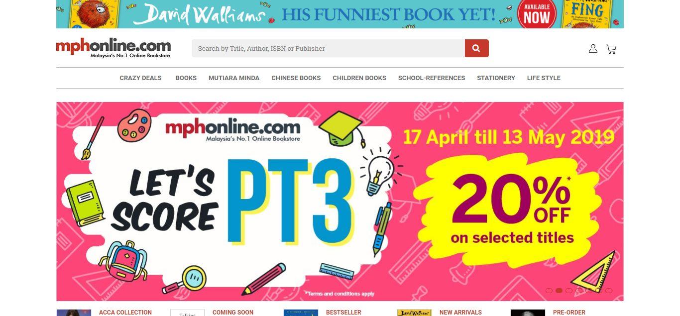 MPH e-commerce