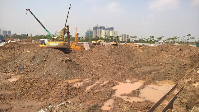 Tiến độ xây dựng An Bình City 24/04/2016