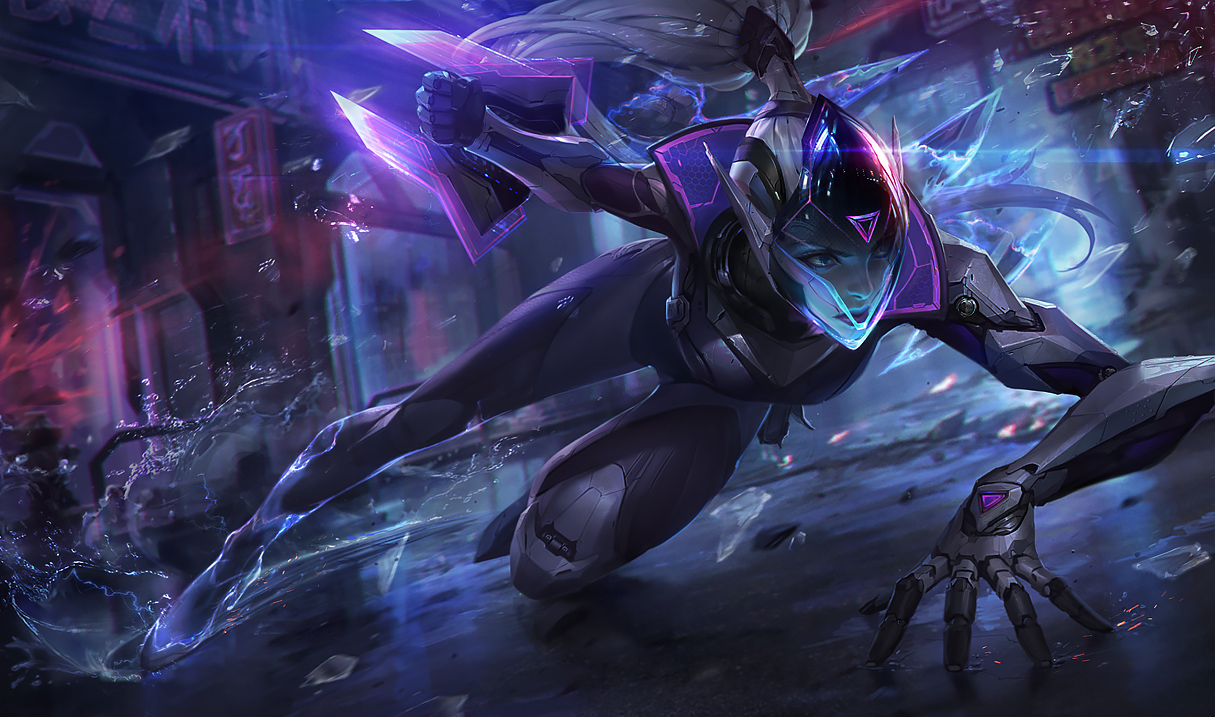 Project Vayne Jhin And Vi Splash Art