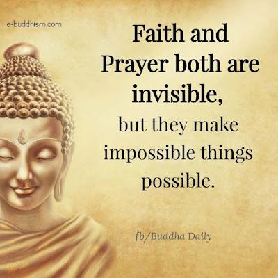 Buddha Faith Quotes