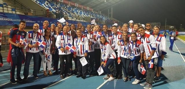 Atletas que compitieron en Barranquilla desfilarán en Santo Domingo
