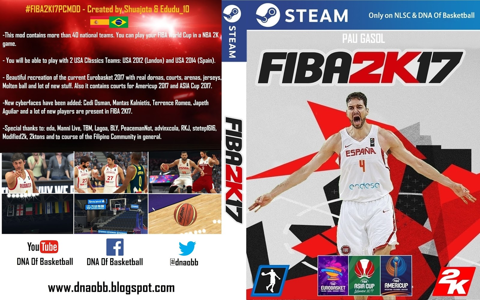 67220dba1a2352 FIBA 2K17 PC MOD  FINAL VERSION  RELEASED - Shuajota
