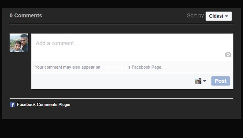 Memasang Komentar Facebook Pada Blog AMP HTML