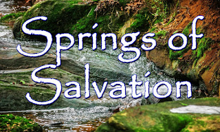A fresh-water spring in a green lush forest, with lichen on rocks:   You will draw water joyfully from the springs of salvation: You will draw water joyfully from the springs of salvation.  1  You are the God of my salvation; I trust in you and have no fear. You are the God of all my singing, the one foundation of my life.  2 I will proclaim to all your people the wonders you have done for me. You are indeed a God of Goodness, You draw me gently to your heart.  3 Let all who live upon God's mountain sing out in gladness and in joy. The Lord of all is living with you, The Holy one who calls to you.