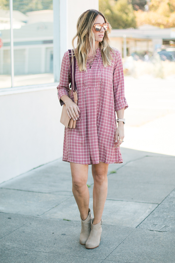 parlor girl fall style dress