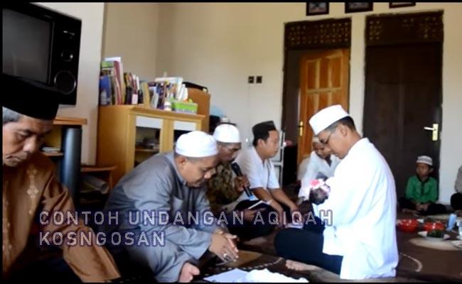 undangan aqiqah lewat wa dan sms