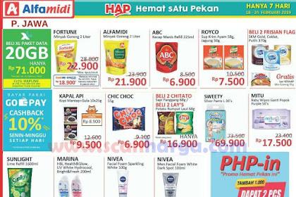 Katalog HAP Promo Alfamidi Satu Pekan 18 - 24 Februari 2019