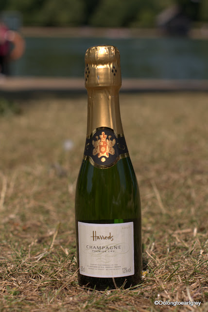 Harrod's Champagne, Hyde Park, London, England