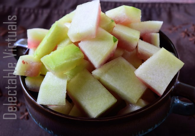 Slow Cooker Watermelon Rind Relish
