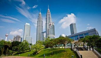 Twin Tower Petronas - 4D3N MALAYSIA TOUR LEBARAN SEASON 2016 (Seat In Couch) - Salika