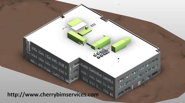 Revit model of new building
