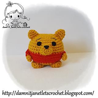winnie crochet pattern